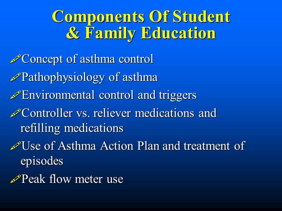 Components Of Student & Family Education