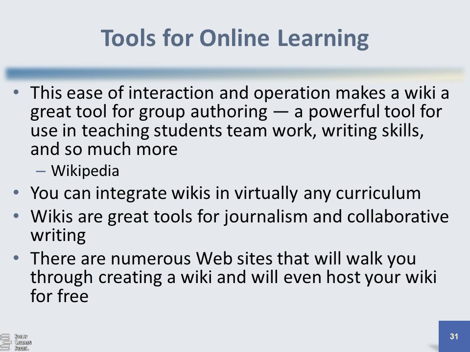Collaborative Teaching Wikipedia ~ The changing face of education teaching online ppt