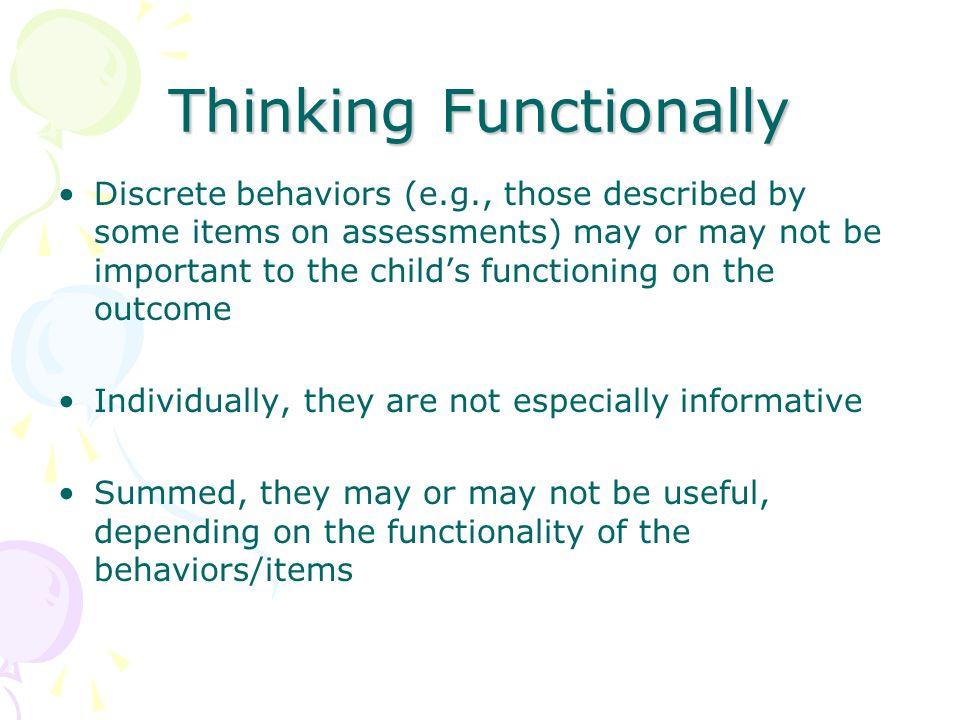 Thinking Functionally