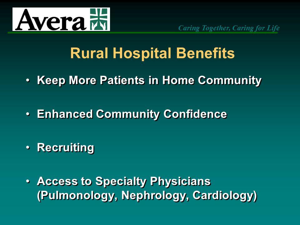 Rural Hospital Benefits