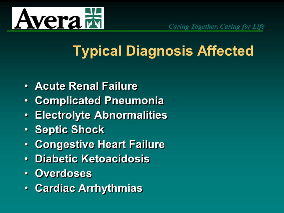 Typical Diagnosis Affected