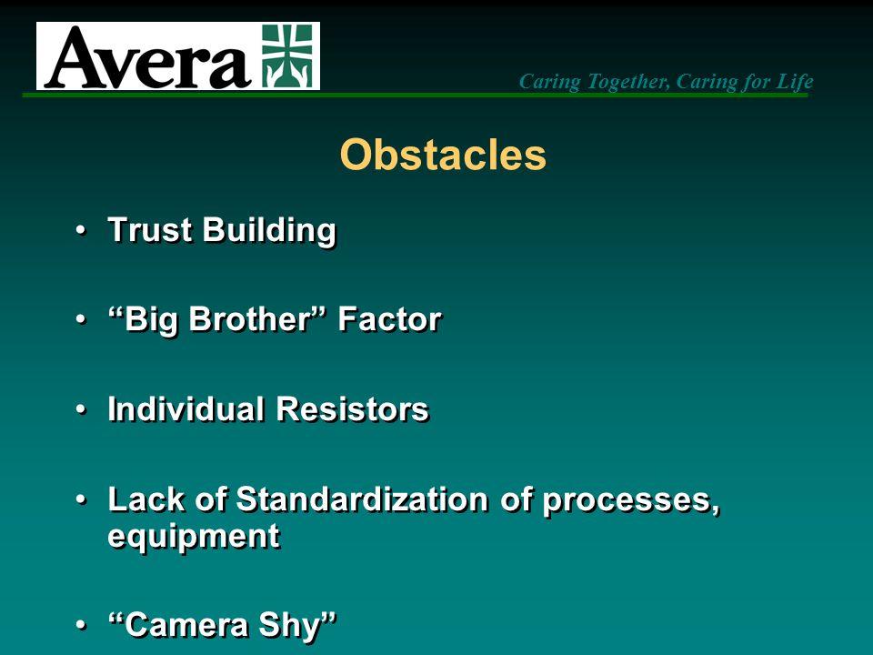 Obstacles Trust Building Big Brother Factor Individual Resistors
