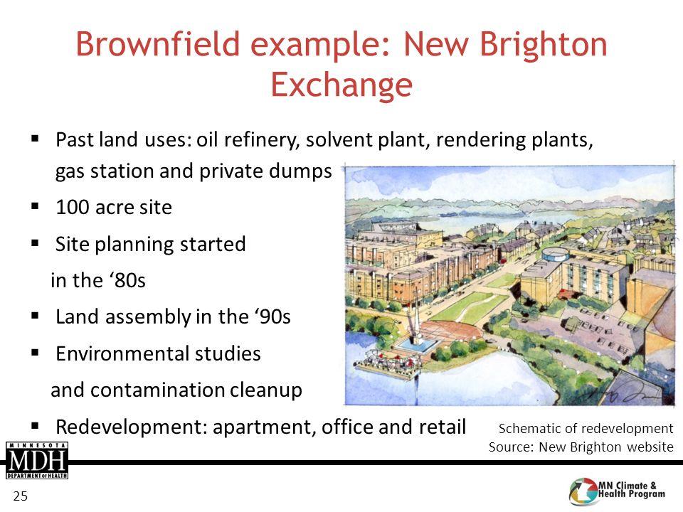 Brownfield example: New Brighton Exchange