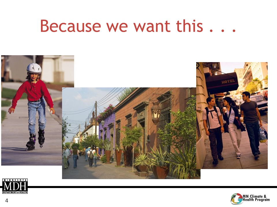 Because we want this . . . So why did MDH assess comprehensive plans