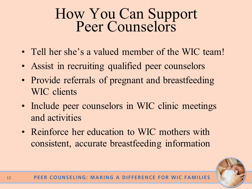 How You Can Support Peer Counselors