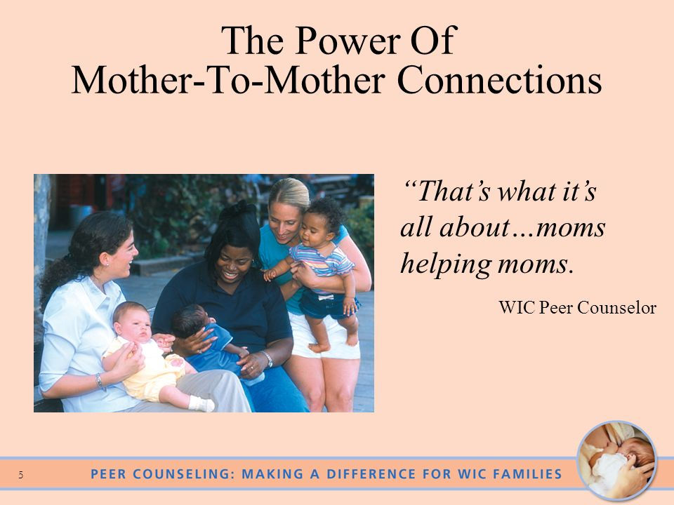 The Power Of Mother-To-Mother Connections