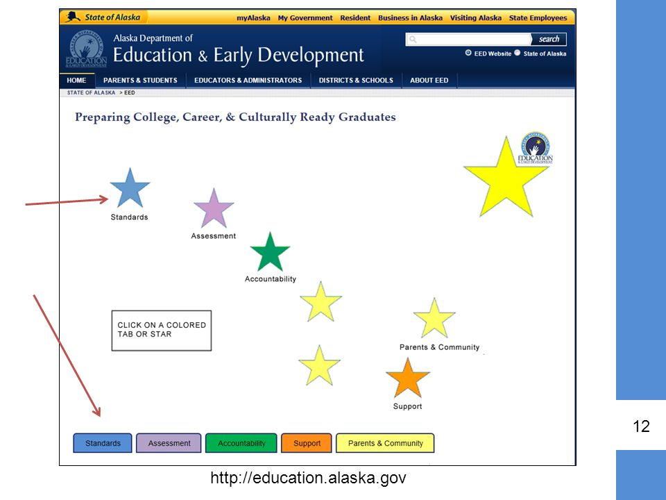 To access the standards document you can go to the Department webpage,