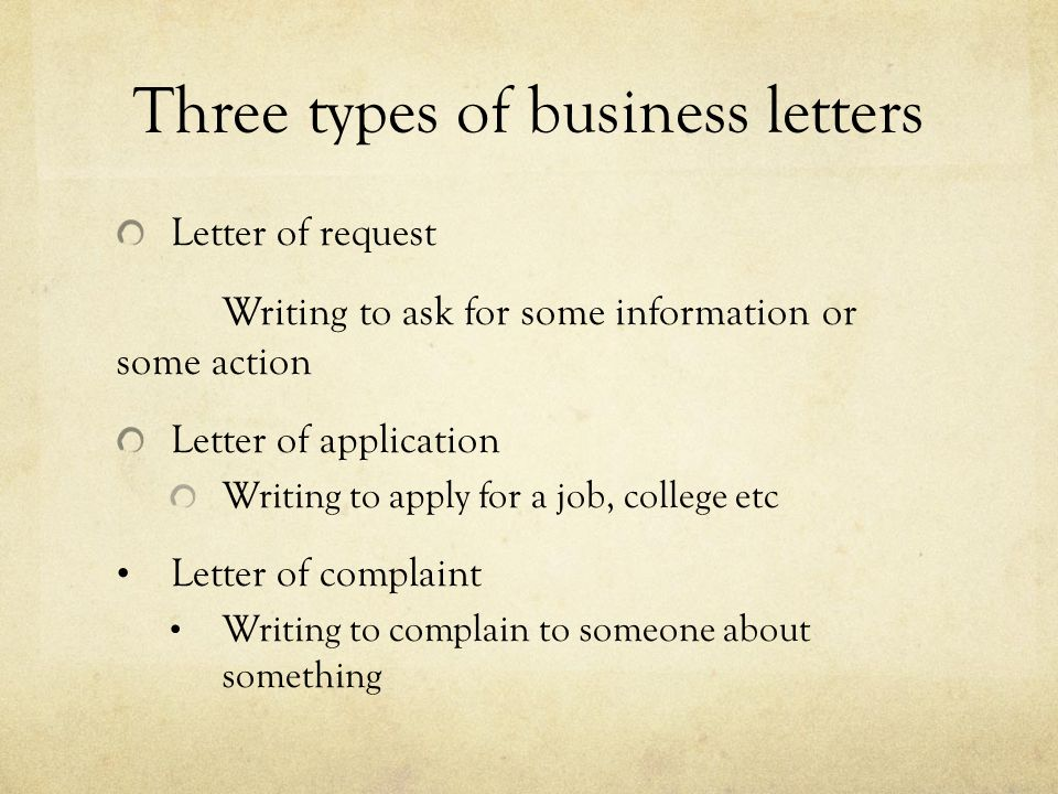 Writing a business letter ppt download three types of business letters spiritdancerdesigns Gallery