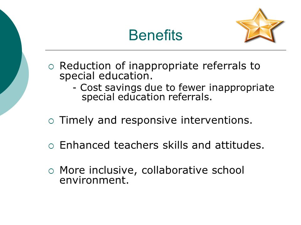 Collaborative Teaching For Special Education ~ Developing high performing pre referral intervention