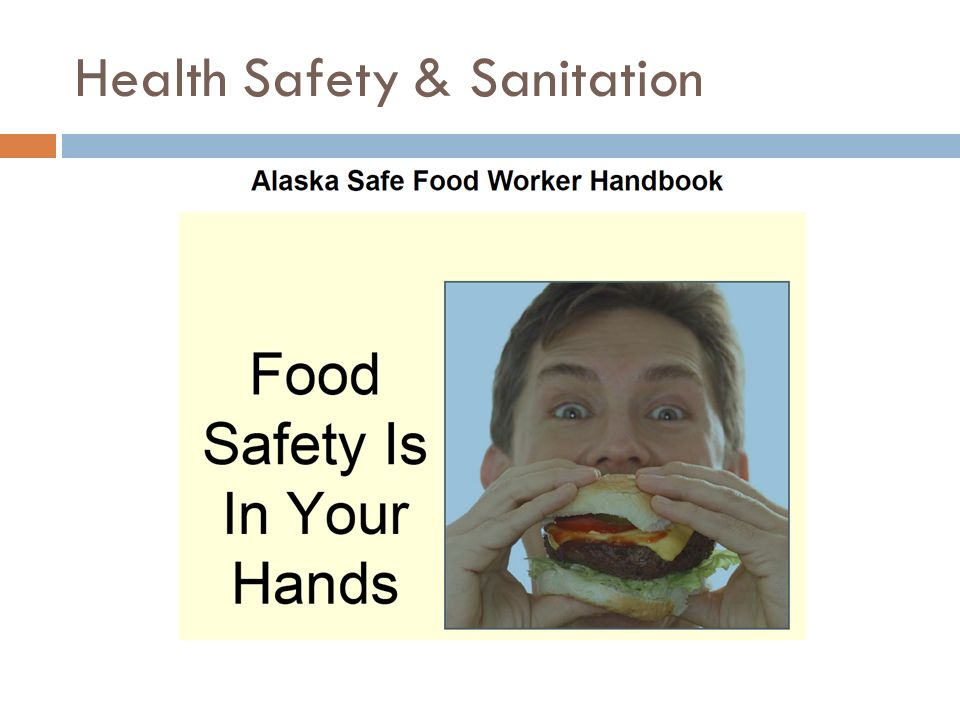 Health Safety & Sanitation