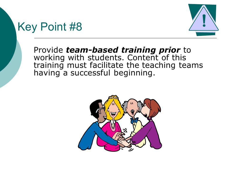 Key Point #8