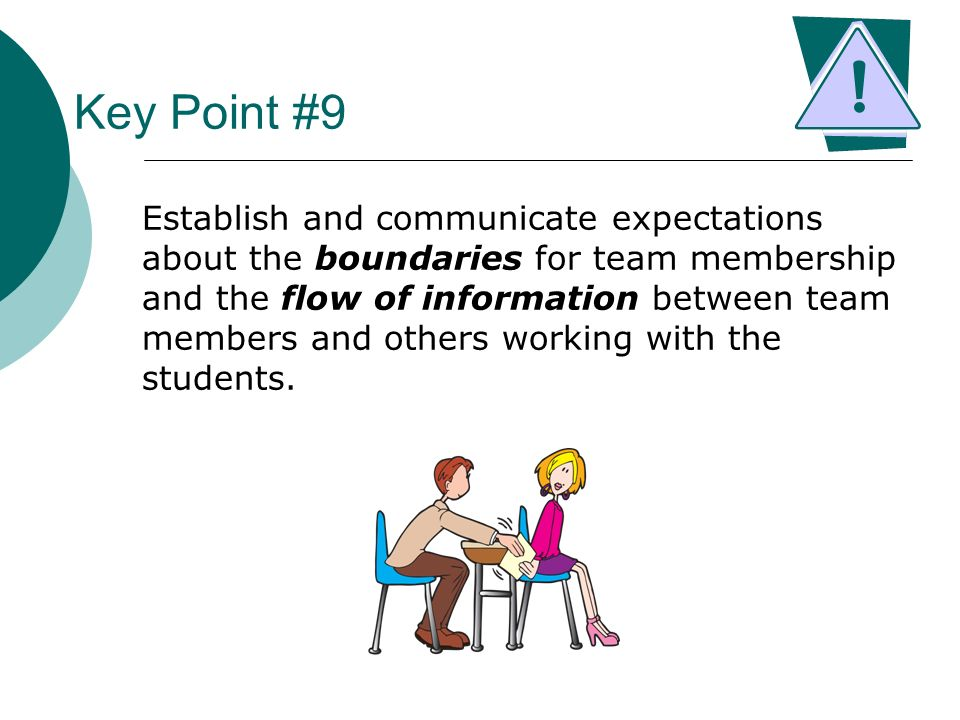 Key Point #9