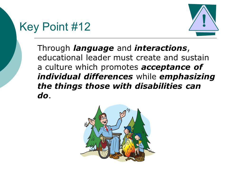 Key Point #12