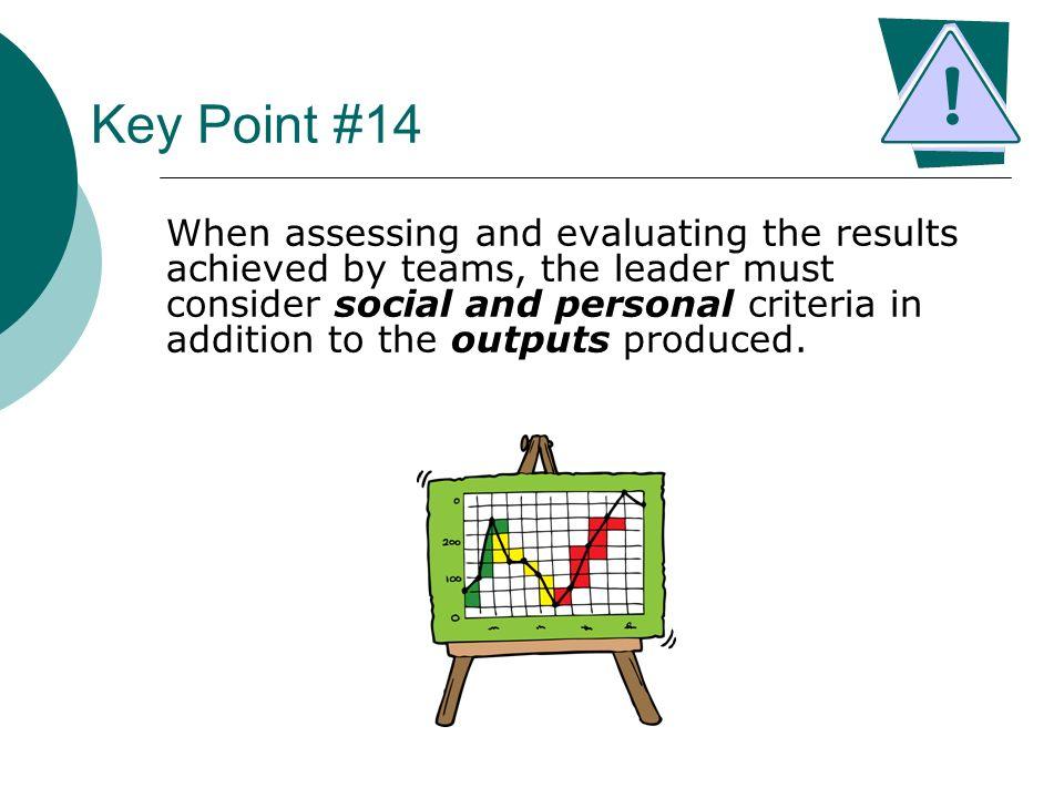 Key Point #14