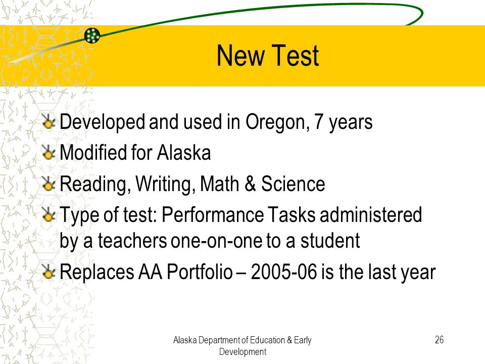 Alaska Department of Education & Early Development