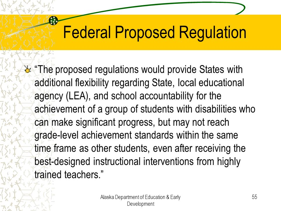 Federal Proposed Regulation