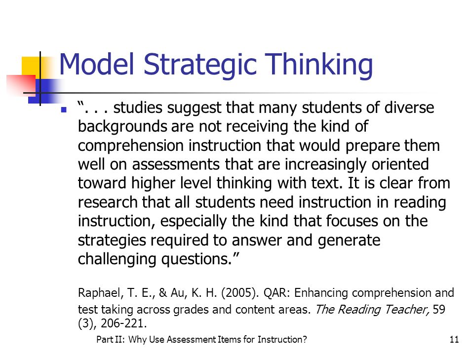 Model Strategic Thinking
