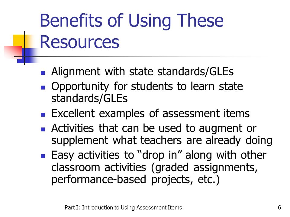 Benefits of Using These Resources