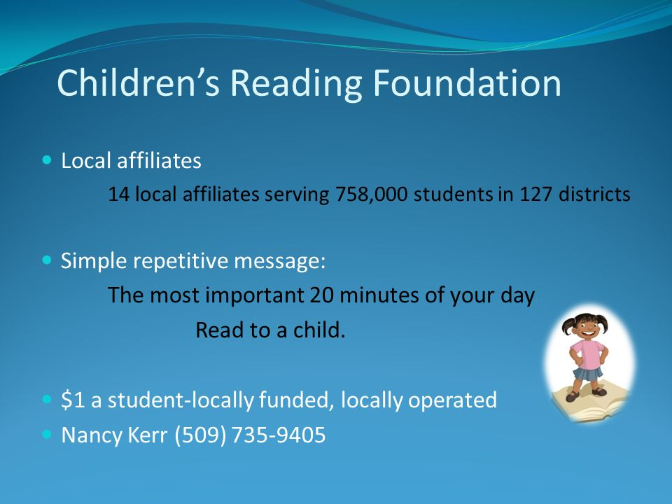 Children's Reading Foundation