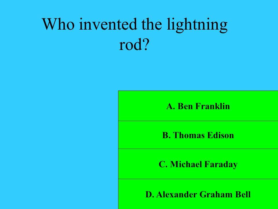 D. Alexander Graham Bell