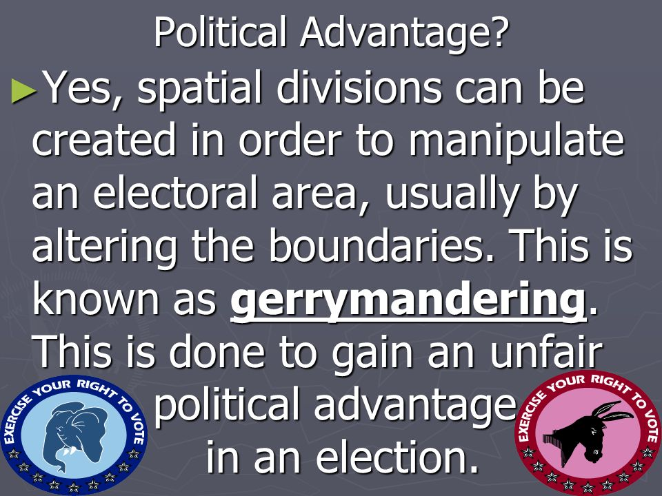 Political Advantage