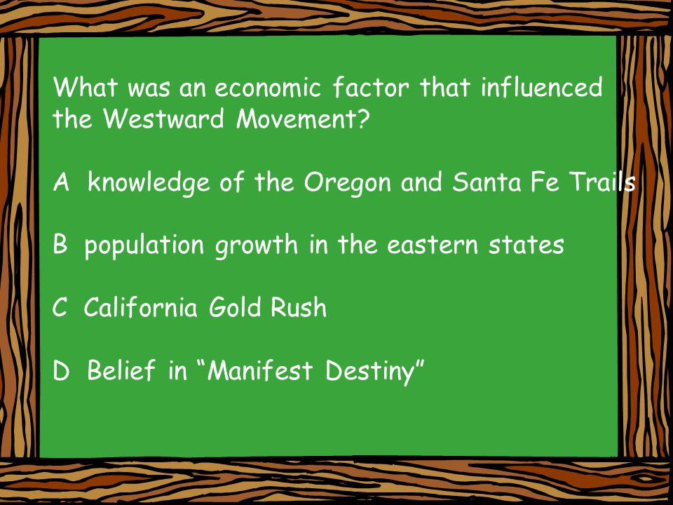 What was an economic factor that influenced