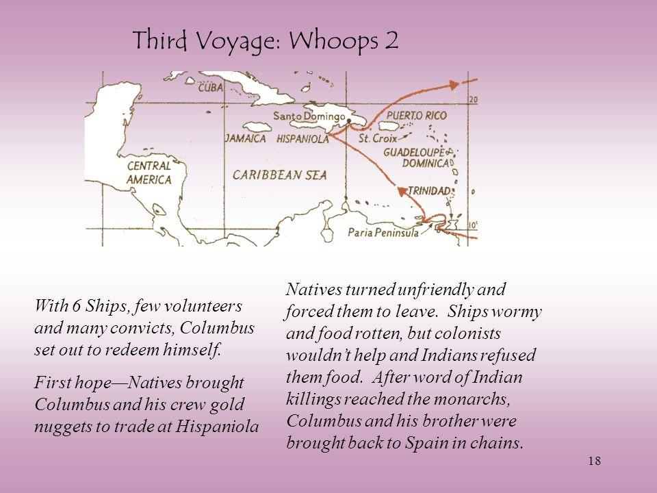 Third Voyage: Whoops 2