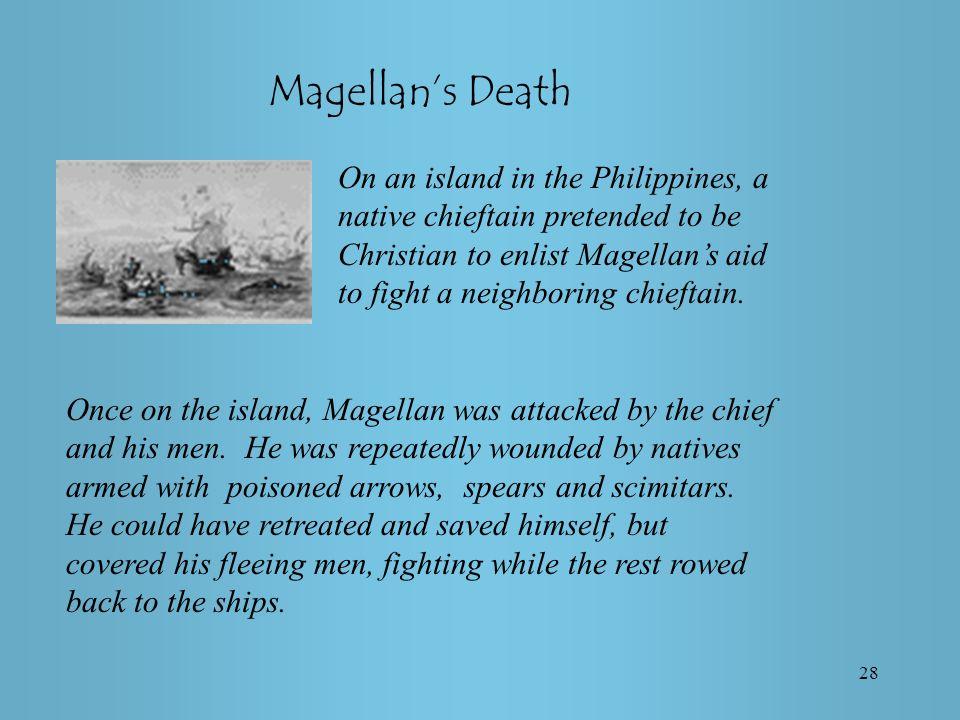 Magellan's Death