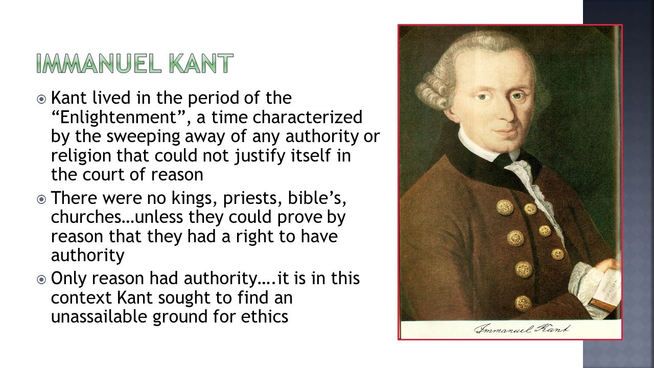 immanuel kant s moral theory The ethical theory of immanuel kant (b 1724-d 1804) exerted a powerful influence on the subsequent history of philosophy and continues to be a dominant approach to ethics, rivaling consequentialism and virtue ethics kant's ethical thought continues to be studied in itself, as a part of his.