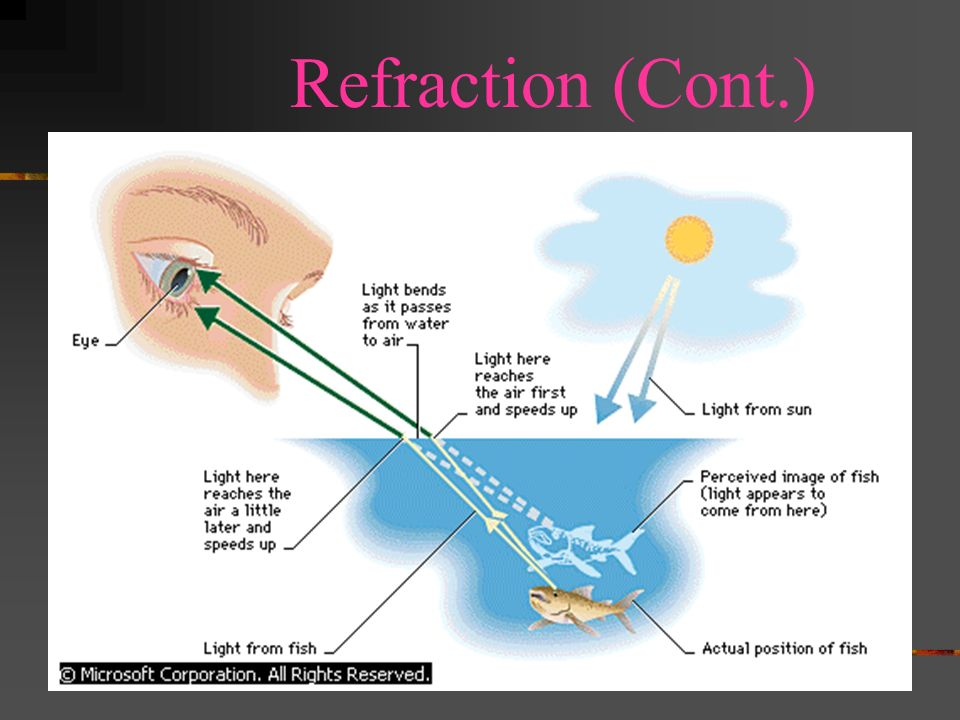 Refraction (Cont.)
