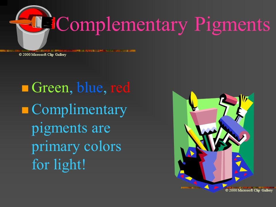Complementary Pigments