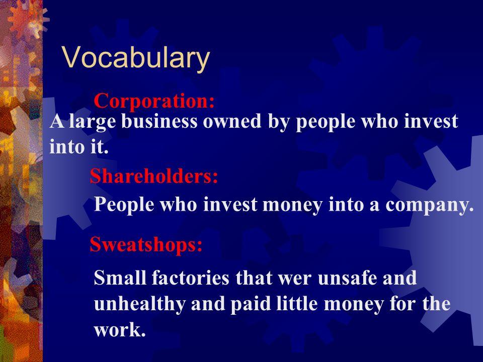 Vocabulary Corporation: