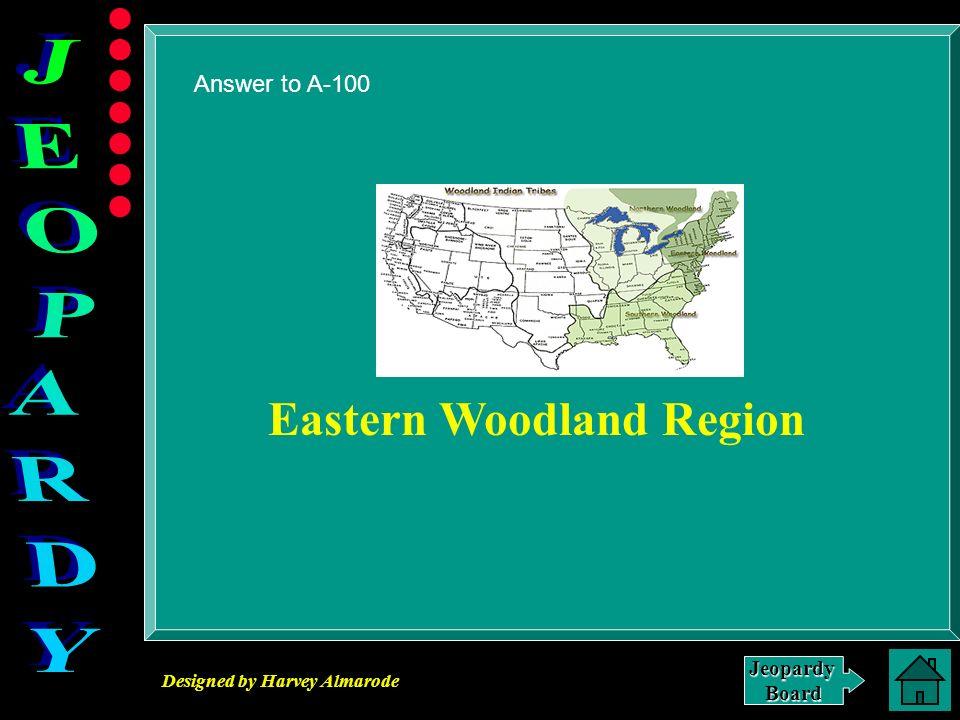 Eastern Woodland Region