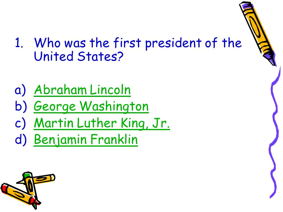 Was Benjamin Franklin President of the United States?