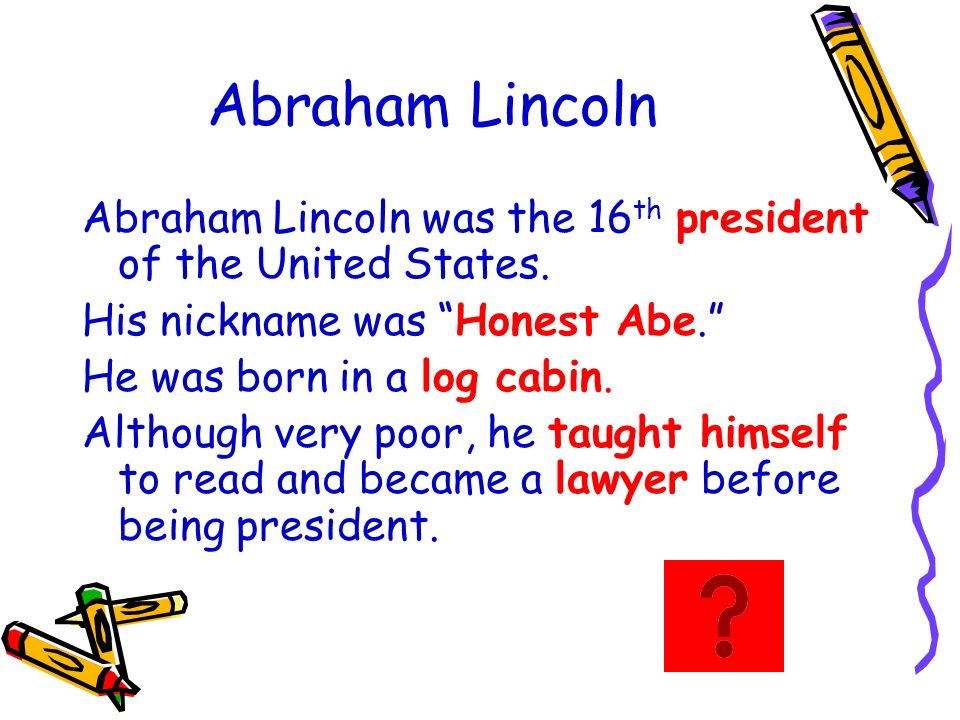 Abraham Lincoln Teacher Resources