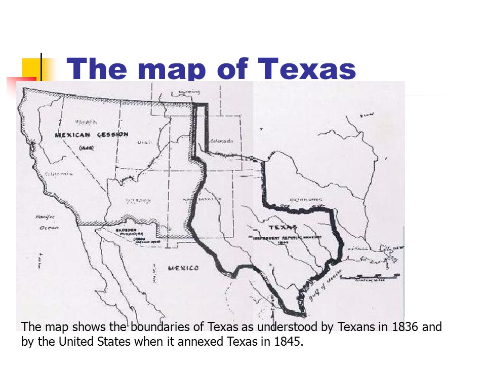 Westward Expansion And Reform In The United States Ppt Video - Us map 1836