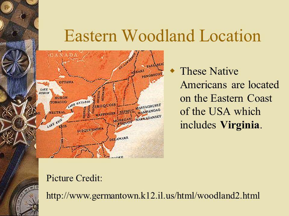 Eastern Woodland Location
