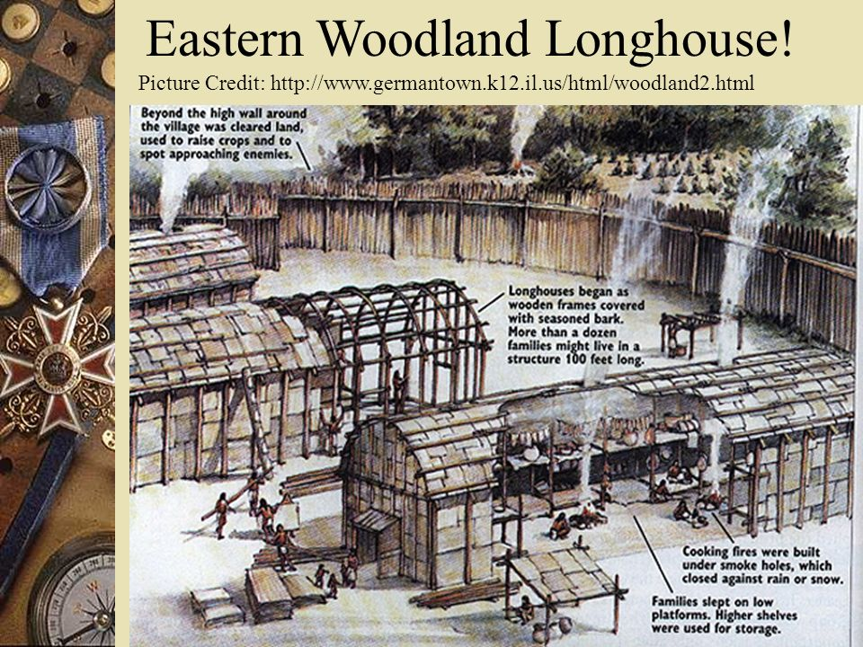 Eastern Woodland Longhouse!