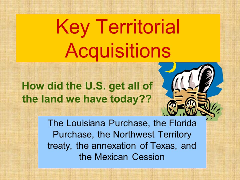 Key Territorial Acquisitions Ppt Download - Us territorial acquisitions