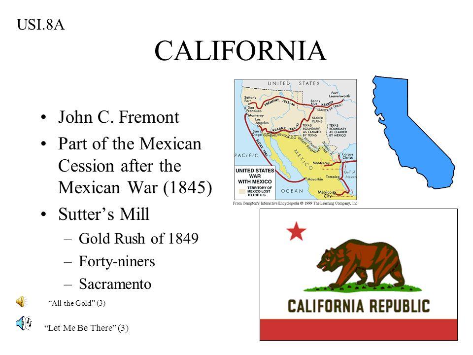 CALIFORNIA John C. Fremont