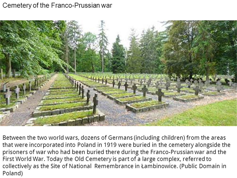 Cemetery of the Franco-Prussian war