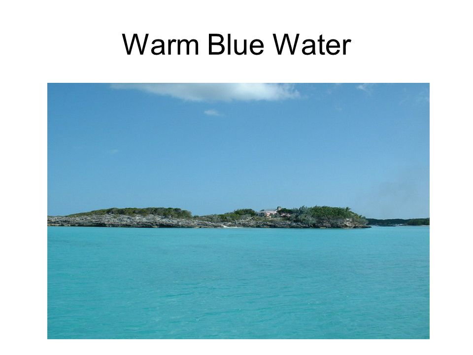 Warm Blue Water