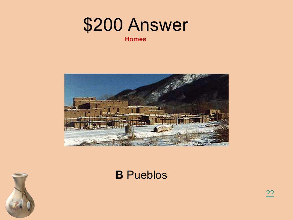 $200 Answer Homes B Pueblos