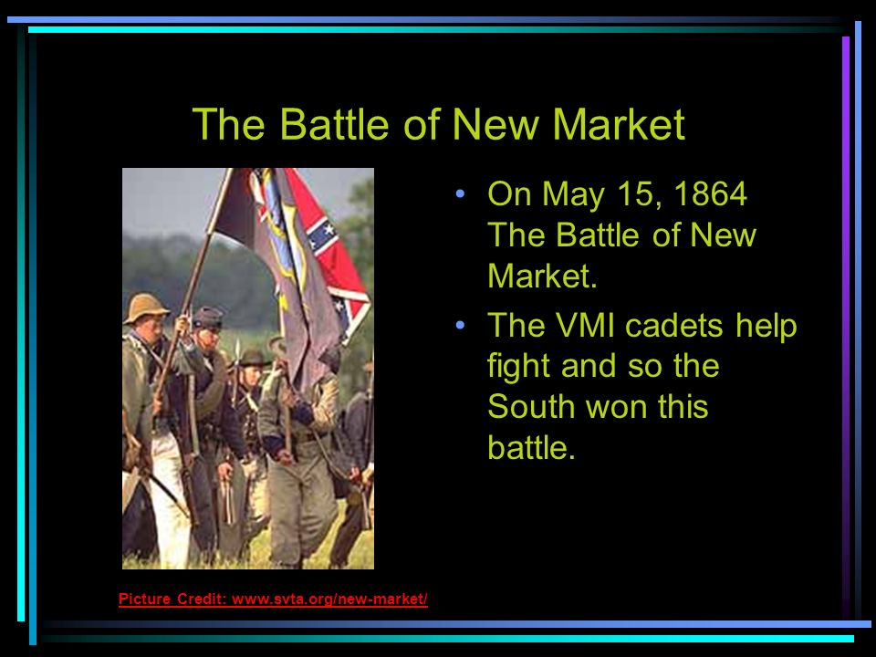 The Battle of New Market