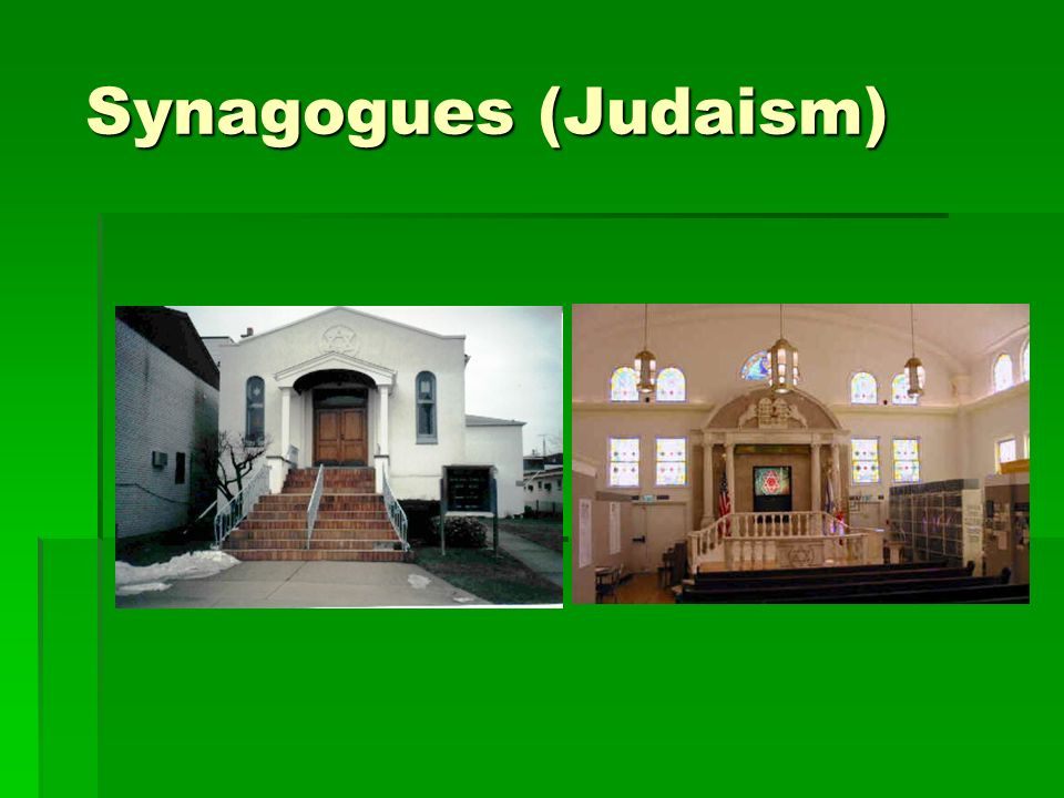 Synagogues (Judaism)