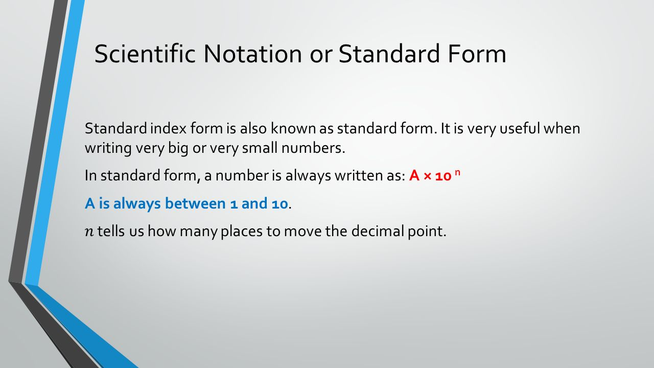 Measurement ppt download scientific notation or standard form falaconquin