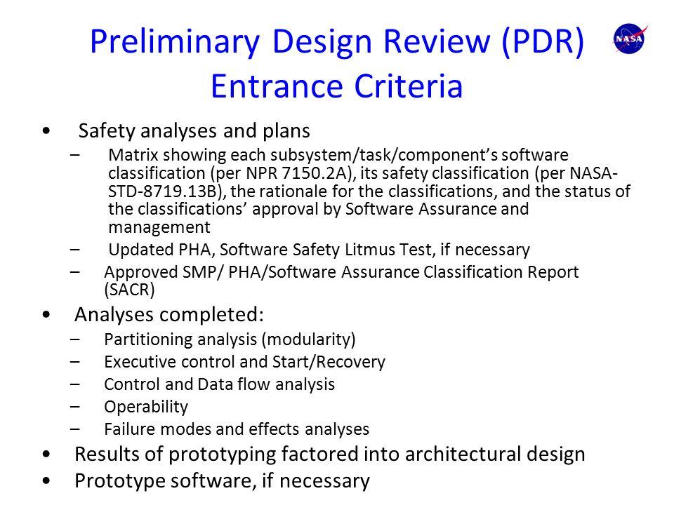 Preliminary Design Review Assignment - colorado.edu