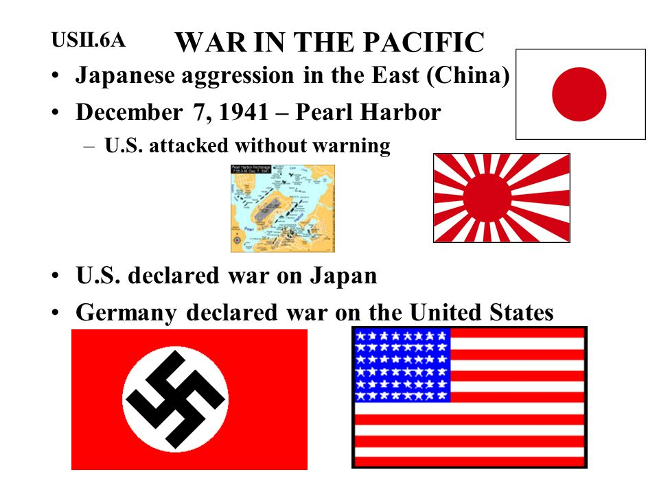 WAR IN THE PACIFIC Japanese aggression in the East (China)