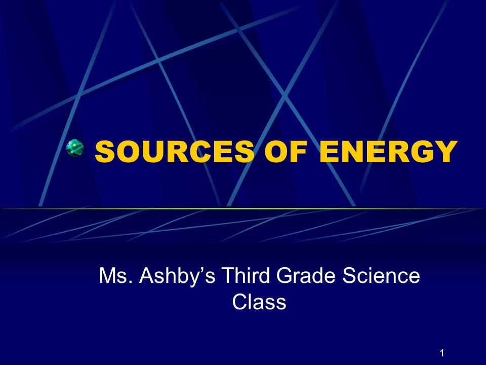 Ms. Ashby's Third Grade Science Class