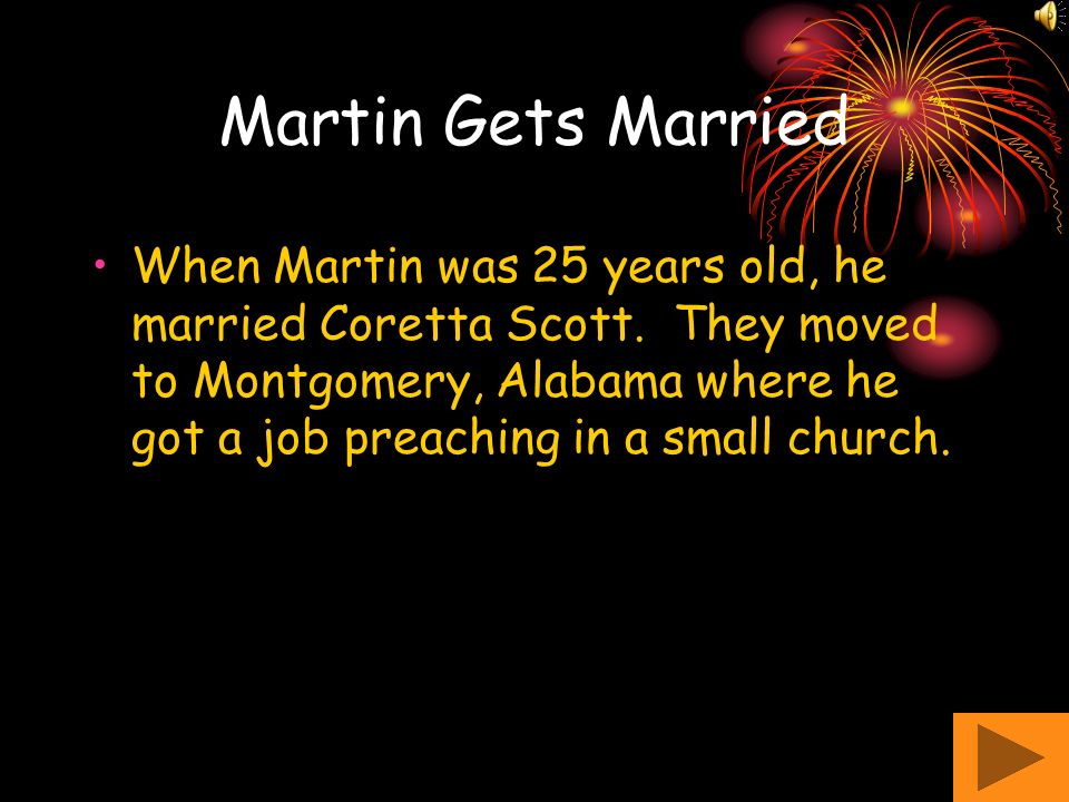 Martin Gets Married